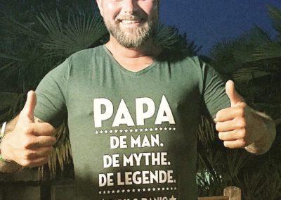 Voorbeeld T-shirt met tekst