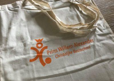 Katoenen tassen voor de PWA