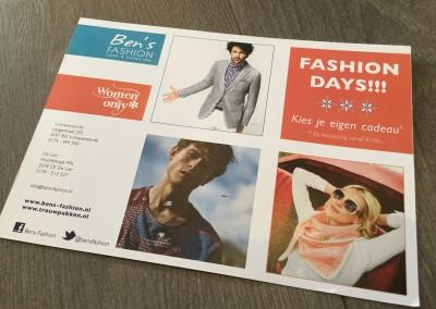 Mailing Ben's Fashion