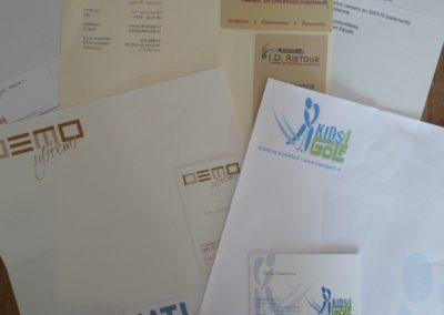 Logo's & Huisstijlen (ontwerp & drukwerk)
